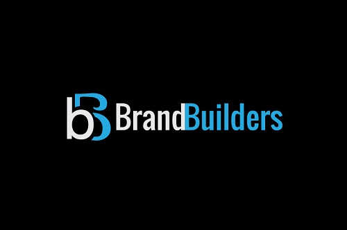 Brand Builders Logo on a Black Background