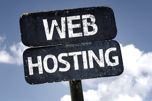 Web Hosting Sign